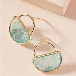 NWT Cadence Petite Hooped Post Earrings